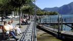 Die Strandpromenade in Lugano - seit einiger Zeit mit weniger öffentlichen WC-Anlagen.