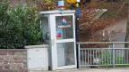 Die Telefonkabine ist in Ebersecken unabdingbar.
