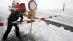 Schnee vom Gotthard für Engelberg.