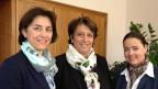Das Frauentrio in der neuen Thurgauer Regierung (von links): Monika Knill (SVP), Cornelia Komposch (SP) und Carmen Haag (CVP).