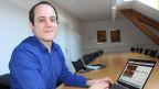 Der Oberwalliser David Imseng hat die Protokoll-Software entwickelt.