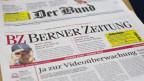 Die Berner SVP reserviert die Inserate auf der Front von Bund und BZ.