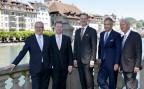 Fünf Sitze, besetzt mit fünf Männern: die neue Kantonsregierung von Luzern.