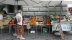 In Luzern gibt es ein Unterangebot für Marktstände.