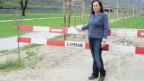 Lidia Totti vor dem Corridorio oecologico