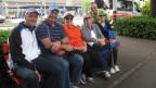 Eine amerikanische Reisegruppe geniesst die Gastfreundschaft in Luzern