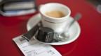 Ein Kaffee auf Rechnung anderer