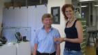 Ruedi Winkler und Romana Mathei