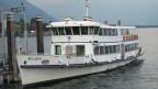 Altes italienisches Kursschiff auf em Lago Maggiore