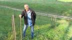 Arthur Lauper auf seiner Trüffel-Farm.