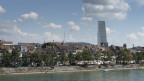 Der Roche-Turm: eine imposante Ergänzung zur Basler Skyline.