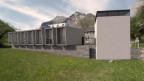 Die geplante Steinhauerschule als Visualisierung