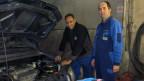 Teklit Redae und Garagier Paul Wermuth