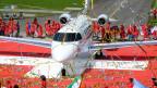 Der neue Business-Jet der Pilatus-Flugzeugwerke: schön für das Auge, ganz schön laut im Testbetrieb.