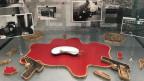 Die Tatwaffen fehlen im Polizeimuseum Basel.