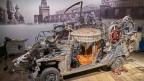 Das Tinguely-Gefährt «Safari de la mort»: Bis im September sollte das Auto wieder fahrtüchtig sein.