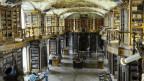Die Stiftsbibliothek St.Gallen - sie war Pflicht für die Aargauer Schüler.