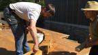 Mühledoktor Kurt Fasnacht bei der Arbeit