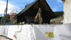 Das Dorf Blauen verschönert sich ständig: Im Dorf entsteht ein Begegnungszentrum.