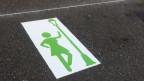 Die Zone für die Prostituierten wurde in Basel so markiert.