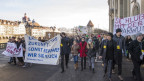 Schüler demonstrierten gegen die verlängerten Herbstferien