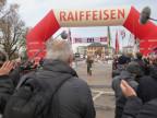 Zieleinlauf am Waffenlauf: Dreharbeiten für den Film «Der Läufer»