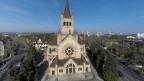 Reformierte Pauluskirche in der Stadt Basel.