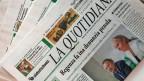 Soll nicht mehr erscheinen: die Tageszeitung «La Quotidiana».