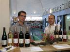 Thomas Löliger und Michael Huber, Weinbauern aus Arlesheim, hoffen, dass es noch ein paar Nachtriebe gibt