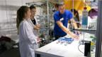 Berufe zum Anfassen: Ein Laborant erzählt an der Baselbieter Berufsschau aus seinem Berufsalltag.