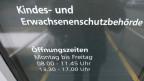 Die Kesb des Kantons Schwyz will sich ein Gesicht geben.
