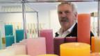 Otmar Lienert führt die Kerzenfabrik in 4. Generation.