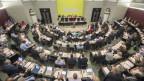 Der Luzerner Kantonsrat hat sich zu einem Budget dirchgerungen.