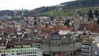 Was das Stadtbild nicht verrät: St. Gallen verliert stetig Einwohner.