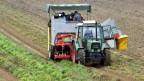 Viele Landmaschinen werden von den Bauern nur kurze Zeit benötigt.