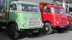 Nostalgische Lastwagen wie diese dürfen nicht zum Transport eigesetzt werden - sonst wird die LSVA fällig.