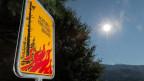 Waldbrände: Auch auf der Alpennordseite immer häufiger.