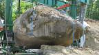400 Tonnen und doch ein Kiesel für die «Hebetec».