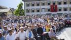 Gut besucht ist relativ: Die Stimmbeteiligung an der Glarner Landsgemeinde ist tief.