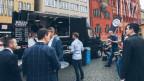 «Meat and Greet» - der Foodtruck der beiden Basler Jungunternehmer.