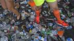 Abfall an der Zürcher Streetparade