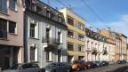 Die Austrasse in Basel.