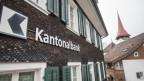 Die Kantonalbank-Filiale in Bürglen.