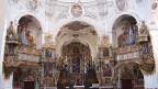 Blick in eine katholische Kirche.