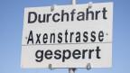 Seit dem 2. Oktober ist die Axenstrasse für den Verkehr gesperrt