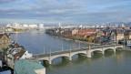 Luftbild von Basel.