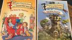 Zwei Kinderbücher in der Stadtbibliothek Uster.