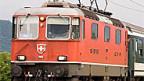 Beim Rheintal Express wird älteres Rollmaterial eingesetzt.