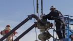 Fracking durchgeführt im März dieses Jahres in Colorado.