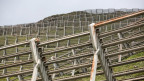 Die Solarpanels sollen an einer Seilkonstruktion über den Verbauungen montiert werden.